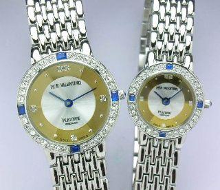 ペレバレンチノ豪華宝飾腕時計